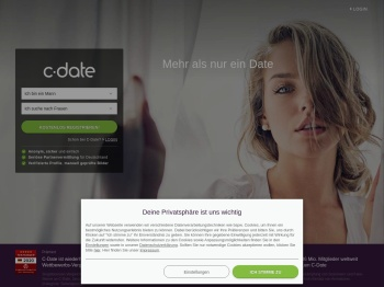 C-Date - Dating mit Niveau in Deutschland