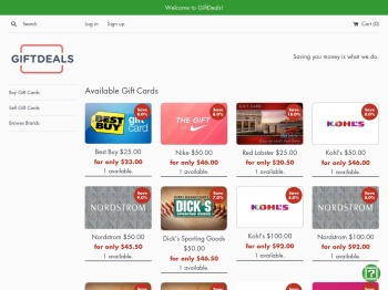 Cardpool.com: Gift Card Exchange - Discount Gift Cards ...