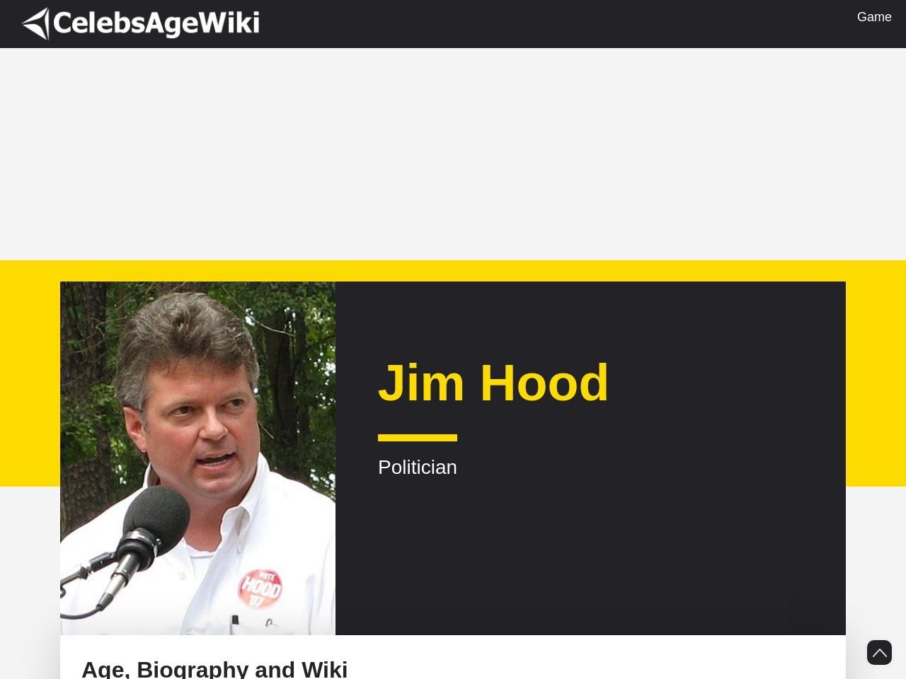 Jim Hood Wife