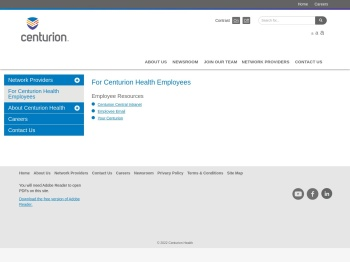 For Employees | Centurion Health