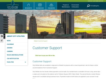 Paying Your City Utilities Bill - City of Fort Wayne