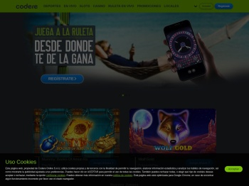 Apuestas Deportivas y Casino Online |Bono hasta 200€| Codere
