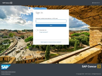 Sign in to Concur | Concur Solutions