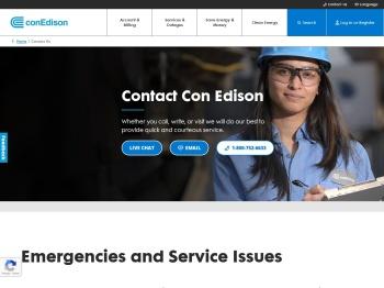 Contact Us   Con Edison