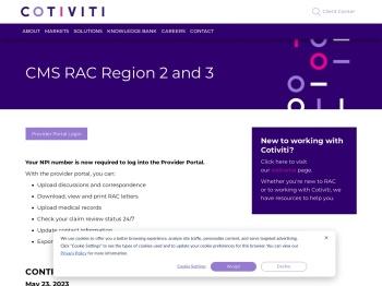 CMS RAC | Cotiviti