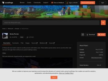 BetterPortals - Mods - Minecraft - CurseForge