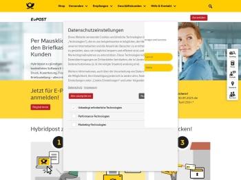 E-POST MAILER | Deutsche Post | E-POST