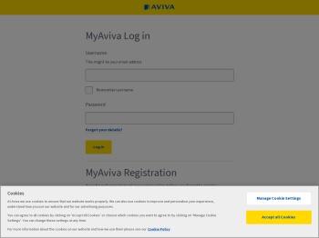 Welcome to MyAviva - Login or Register