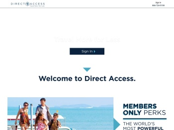 Direct Access: Login