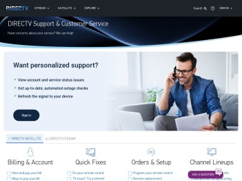 DIRECTV Customer Service, Phone Number, Bill Pay Support ...