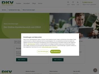 Persönlicher Kundenbereich Meine Versicherungen | DKV