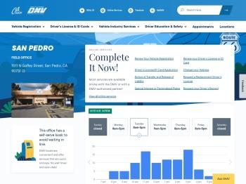 San Pedro - California DMV