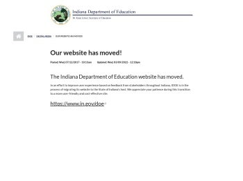 Parent Portal   IDOE - Indiana Department of Education