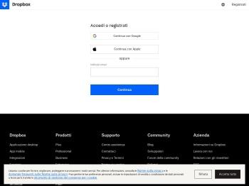 Accedi - Dropbox