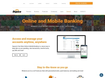 Online and Mobile Banking - Dupaco