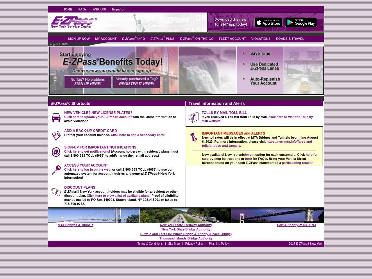 E-ZPass® New York