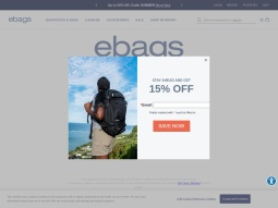 eBags screenshot