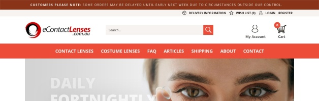 eContactLenses Coupons