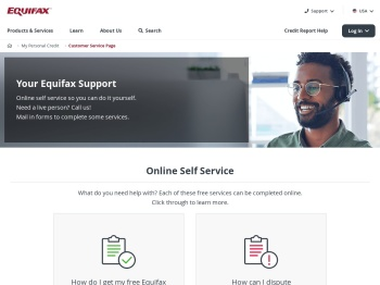 Contact Us | Customer Service - Equifax