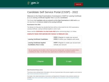 LC Candidate Self Service Portal - State Examination ...