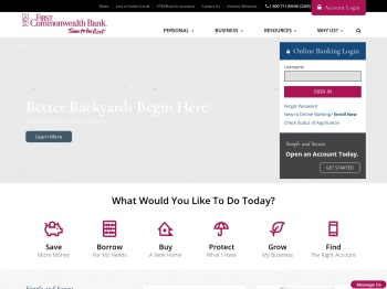 First Commonwealth Bank: Personal and Business Banking