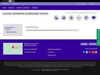 Blackboard Learn - Fauquier County Public Schools