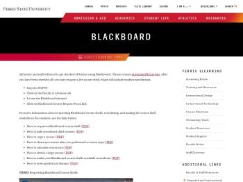 eLearning - Blackboard - Ferris State University