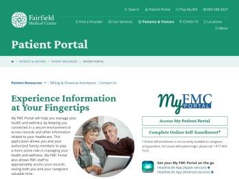 Patient Portal | Fairfield Medical Center