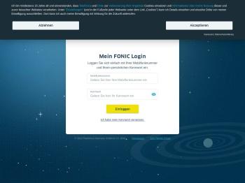FONIC-Login - Einfach und schnell bei FONIC einloggen