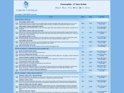 Forumophilia screenshot