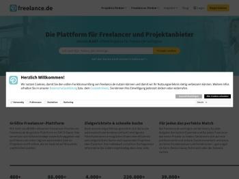 Freelancer, Freiberufler & Projekte   freelance.de