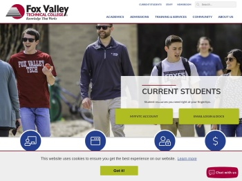 Current Students   Fox Valley Technical College