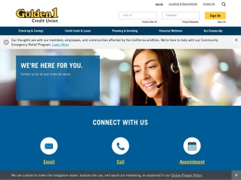 Contact Us - Golden 1 Credit Union