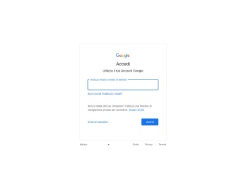 Accedi - Account Google