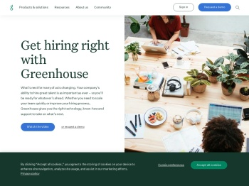 Greenhouse: Applicant tracking system & recruiting software
