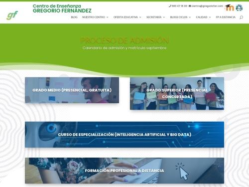 Centro Enseñanza Gregorio Fernández de VALLADOLID