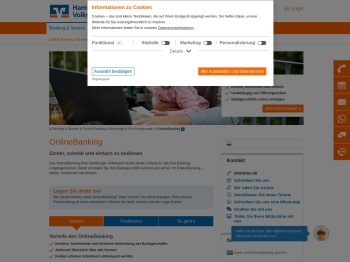 Online-Banking - Hamburger Volksbank eG
