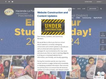 Hacienda La Puente Unified School District