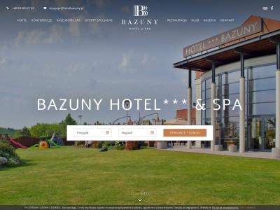 Hotel SPA na Kaszubach | Hotel Bazuny Pomorskie | Noclegi na Kaszubach
