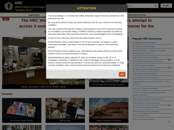 HRC Homepage