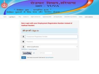 Employment Department, Haryana - SAKSHAM Yuva