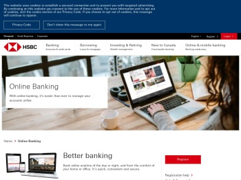 Online Banking | HSBC Bank Canada