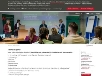 Hochschulportal - Hochschule Ludwigshafen