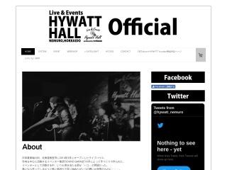 根室HYWATT HALL