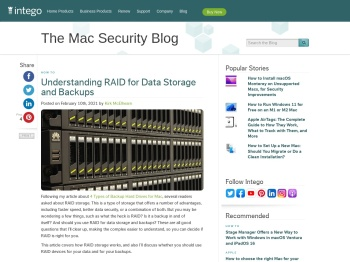 Understanding RAID for Data Storage and Backups   The Mac ...