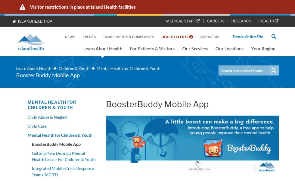BoosterBuddy Mobile App