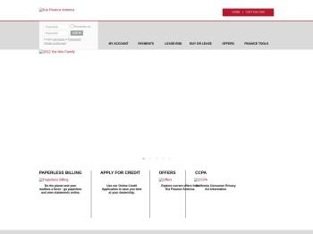 Log In To Your Account - Kia Motors Finance