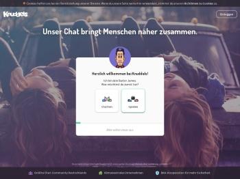 Knuddels Chat - Wir bringen Menschen zusammen.