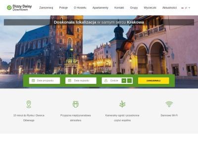 Hostel Dizzy Daisy - tani nocleg w Krakowie