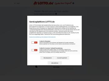 Anmeldung bei Ihrer Landeslotteriegesellschaft - LOTTO.de